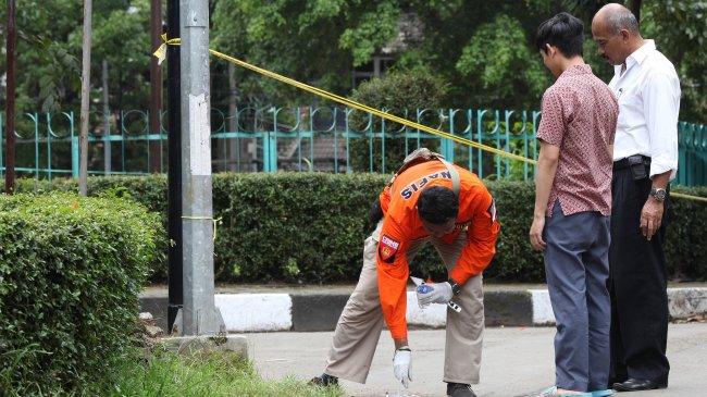 Bom di Cicendo Bandung Kategori Low Explosive