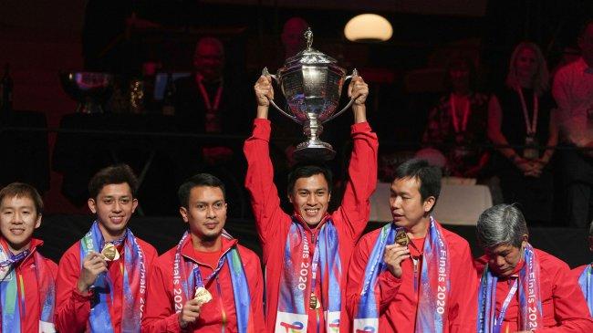 Indonesia Rebut Piala Thomas, Penantian Panjang Selama 19 Tahun