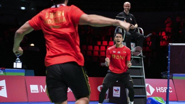Bedah Peluang Final Kento Momota vs Axelsen di Denmark Open 2021, Tugas Jojo Gantikan Ginting