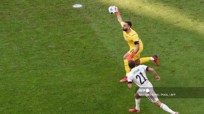 Hasil UEFA Nations League - Italia Tundukkan Belgia 2-1, Gianluigi Donnarumma Dikolongin