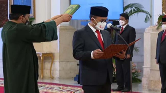 Presiden Jokowi Angkat Ivan Yustiavanda Sebagai Kepala PPATK Periode 2021-2026