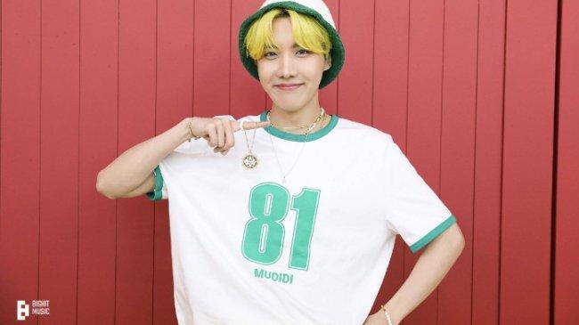 J-Hope BTS Ungkap Makna Lirik Lagu ''Blue Side'' di Kehidupannya