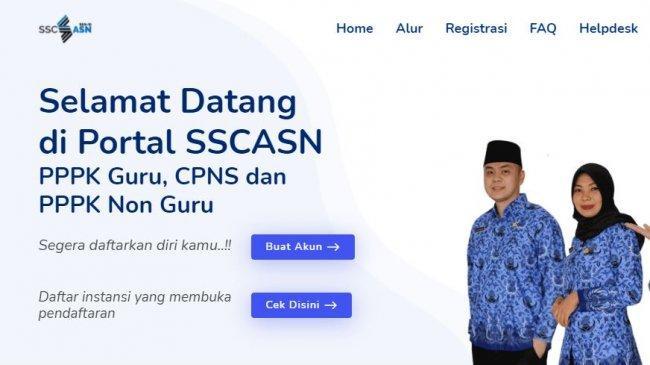 Cek Hasil Seleksi Administrasi CPNS 2021 di sscasn.bkn.go.id, Kata BKN Jika Pengumuman Tak Muncul