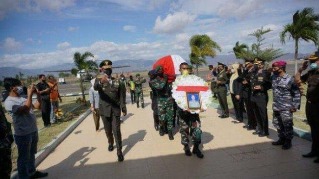 Prajurit TNI asal Bima yang Gugur di Pos Ramil Aifat Timur Papua, Tinggalkan 3 Orang Anak