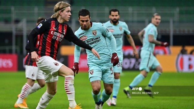 Plus Minus Kepergian Hauge dari AC Milan, Tugas Pioli dan Maldini Punya Secercah Harapan