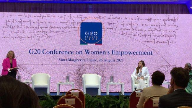 Dr Jessica Widjaja Tuai Pujian di G20 Conference on Women's Empowerment