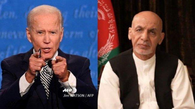Joe Biden Sempat Telepon Ashraf Ghani sebelum Taliban Berkuasa: Kami akan Terus Beri Bantuan