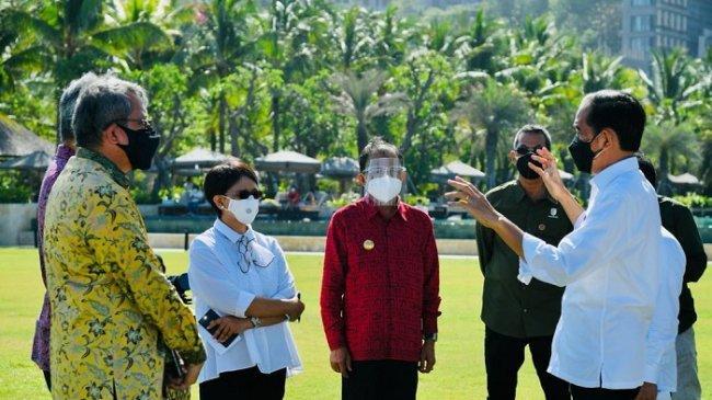 Jokowi Ingin KTT G20 di Bali Tahun Depan Jadi Ajang Unjuk Kemampuan Indonesia Tangani Pandemi