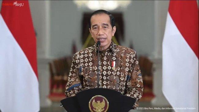 Aturan PPKM Dilonggarkan, Jokowi Minta Masyarakat Selalu Waspada dan Hati-hati