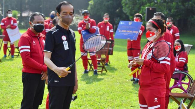 Jokowi Bagi-bagi Bonus Atlet Paralimpiade Tokyo 2020, Peraih Medali Emas Dapat Rp 5,5 Miliar