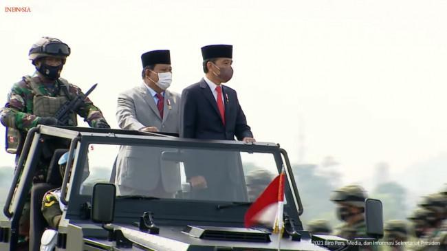Jokowi Tetapkan 3.103 Komponen Cadangan 2021 di Pusdiklatpassus