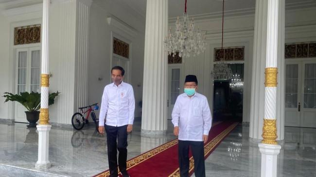 Nostalgia Mantan Partner: 1 Jam Jokowi dengan Jusuf Kalla Ngobrol Sambil Makan Siang di Yogyakarta