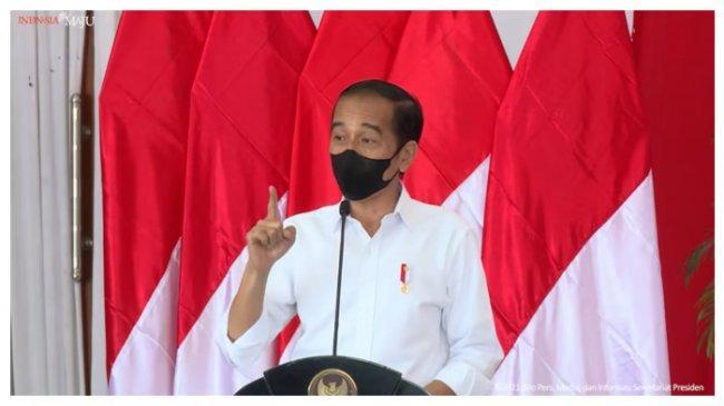 Jokowi Sampaikan Hal Ini Saat Bertemu Petinggi Partai Politik Koalisi Nonparlemen di Istana