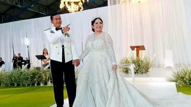Joy Tobing Resmi Menjadi Istri Perwira TNI