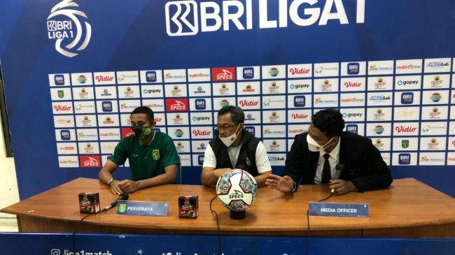 Persebaya Surabaya Ditahan Imbang Persela Lamongan, Aji Santoso Sebut Gol Ivan Carlos Offside