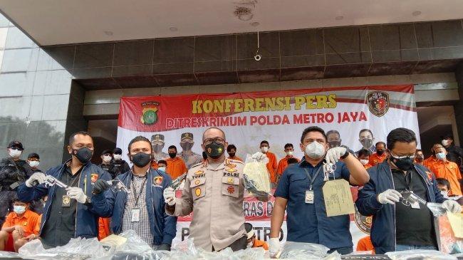 Polisi Tangkap Komplotan Pelaku Curanmor Bawa Senpi yang Kerap Beraksi di Tangerang