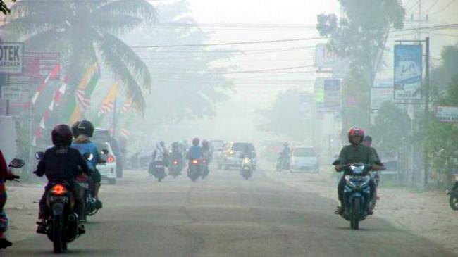 Kabut Asap Belum Ganggu Pelayaran