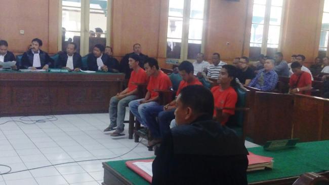 4 Kader Pemuda Pancasila Terancam 5 Tahun Penjara