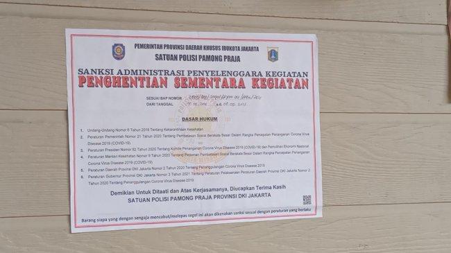 Holywings Kemang Langgar Prokes, Polisi Melakukan Pengecekan di Lokasi
