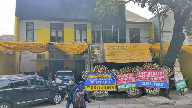 Penampakan Kantor DPP Partai Ummat di Tebet yang Baru Diresmikan Hari Ini