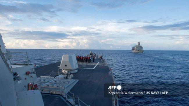 China Kecam AS dan Kanada karena Kirim Kapal Perang di Selat Taiwan: Mengancam Perdamaian