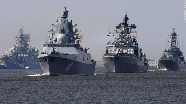 Kapal Perang 'Pemburu Kapal Selam' AL Rusia Tiba di Laut Mediterania