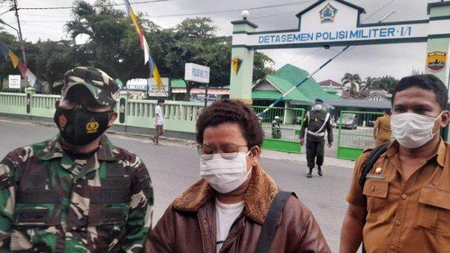 Dianiaya Oknum TNI Terkait Penerapan PPKM, Bu Lurah Tolak Berdamai