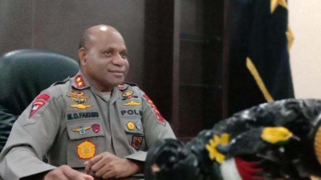 PolsekNimboran Papua Dibakar Massa, Begini Penjelasan Lengkap Kapolda Papua