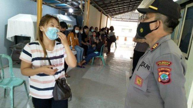 Wanita Tersangka Pembunuh Sesama Jenis di Manado Ditahan di Sel Polsek Wenang