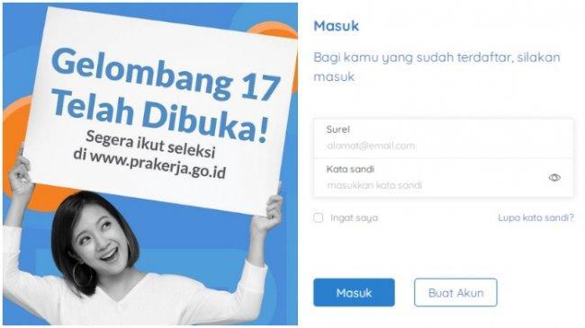 Daftar Kartu Prakerja Gelombang 18 Hanya di www.prakerja.go.id, Ini Bocoran Waktu Pendaftarannya