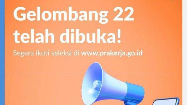 Syarat & Cara Pendaftaran Kartu Prakerja Gelombang 22, Maksimal 2 NIK dalam 1 KK