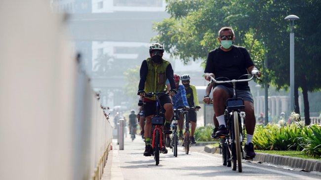 Jalur Sepeda Rp 28 Miliar di DKI Mau Dibongkar, Djarot: Mubazir Dong, Sayang Gede Duitnya