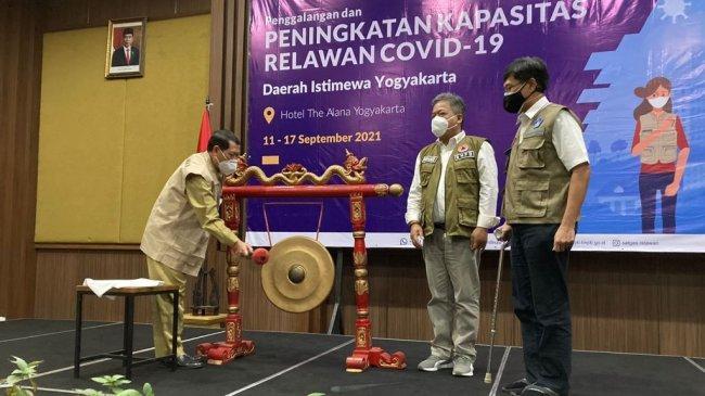Satgas Relawan Covid-19 Tingkatkan Kapasitas 1000 Relawan Daerah Istimewa Yogyakarta