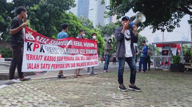 Kasus Jual Beli Jabatan Wali Kota, KPK Didesak Serius Tangani Dugaan Keterlibatan Azis Syamsuddin