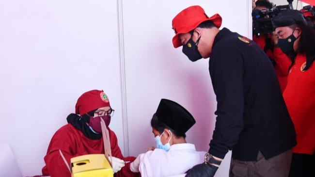 Sasar Zona Hitam Covid-19, BIN Gelar Vaksinasi Massal di Pesantren dan Door to Door di 3 Provinsi
