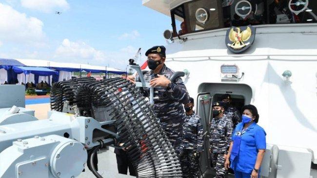 Kapal Patroli Cepat KRI Pollux-935 Perkuat Alutsista TNI AL