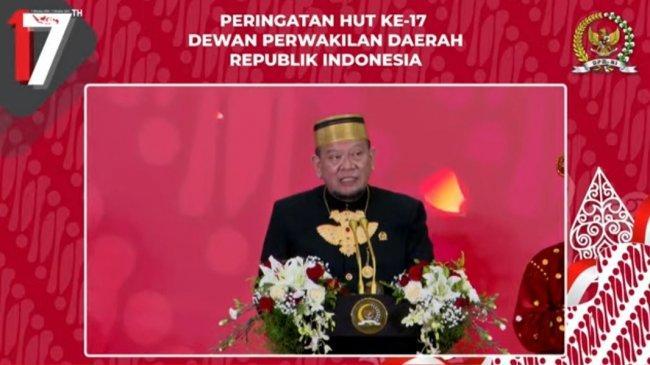 Ketua DPD RI: Kerajaan Nusantara Salah Satu Pemilik Saham Utama Negeri Indonesia