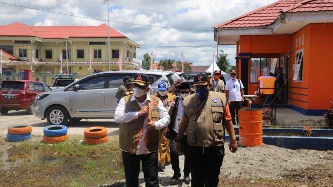 Kepala BNPB Pantau Posko Satgas PON Papua, Pastikan Penegakan Disiplin Prokes Covid-19