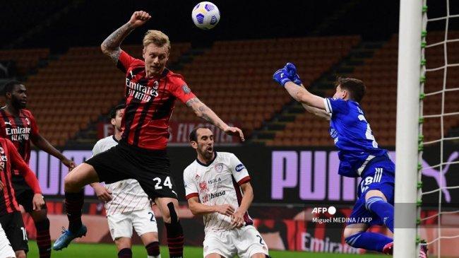 Jadwal Atalanta vs AC Milan di Liga Italia: Simon Kjaer Comeback, La Dea Tanpa Robin Gosens