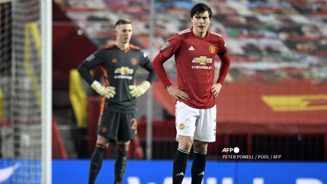 Victor Lindelof, Tumpan Manchester United di Tengah Absennya Raphael Varane dan Harry Maguire