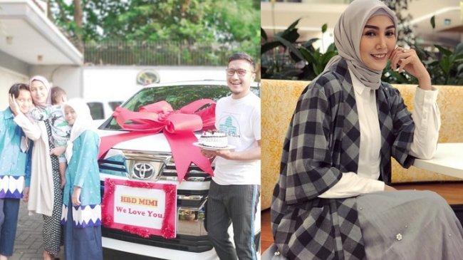 Arie Untung Ungkap Berkah Berhijab yang Didapat Istri, Fenita Arie Terima Hadiah Mobil di Hari Ultah
