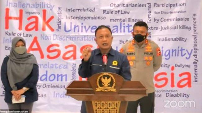Komnas HAM Bahas Penanganan Kasus yang Sedang Viral Terkait Internal Kepolisian dengan Propam Polri
