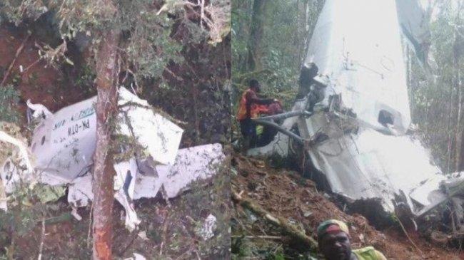 Pesawat Twin Otter 300 Rimbun Air Cargo Tabrak Gunung Sebelum Akhirnya Jatuh