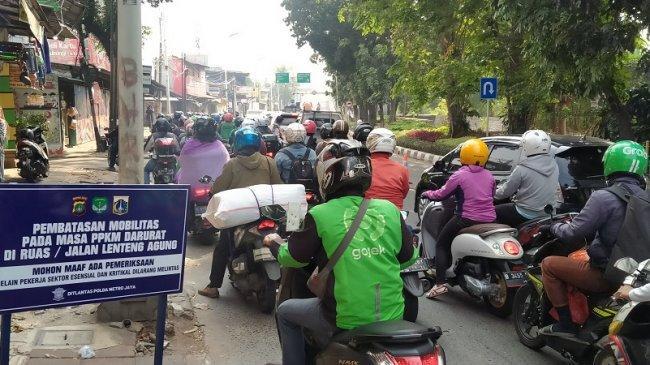 Polisi : Warga yang Diputarbalik saat Akhir Pekan Beralasan Ingin Jalan-jalan ke Jakarta