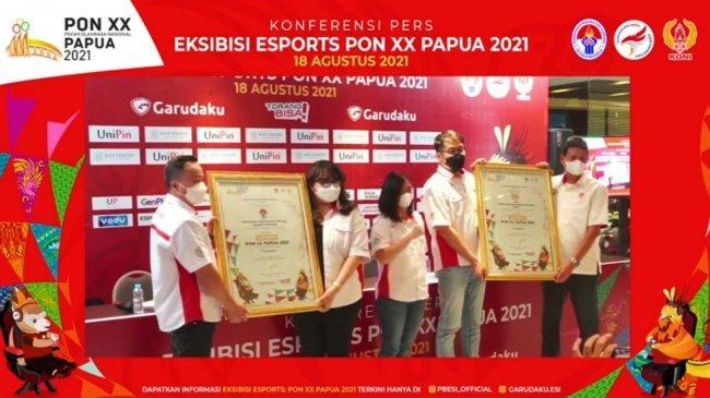 Cabang Olahraga Esport Resmi Dipertandingkan Secara Ekshibisi di PON XX Papua