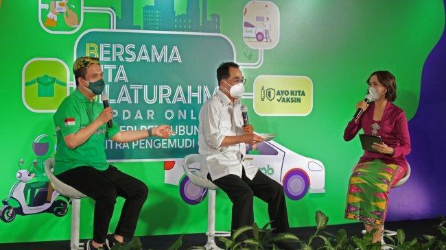 Ngobrol di Kopdar Online, Menhub Ajak Keluarga Driver Grab Suntik Vaksin