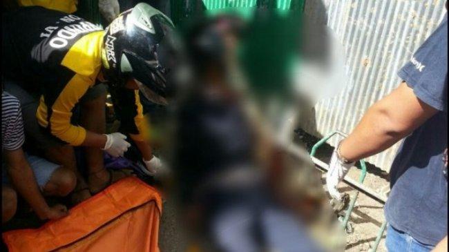 Leher Korban Kecelakaan Lalu Lintas Tertancap di Besi Pagar