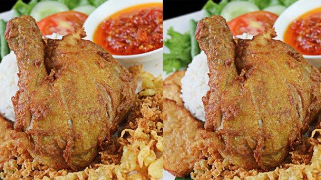 Pesona Kuliner Hotel Santika Premiere Bintaro, Nikmati Lezatnya Ayam Kremes Plus Sambal Bawang