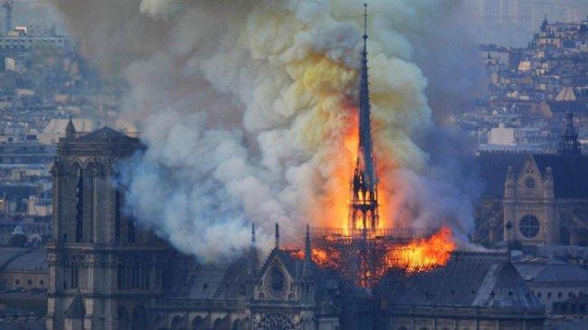 Sebulan Usai Kebakaran, Terungkap Penyebab Api Gereja Notre Dame di Prancis Sulit Ditaklukkan