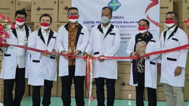 Pemerintah Bangga Produsen Swab Antigen Dalam Negeri Mampu Ekspor ke Mancanegara